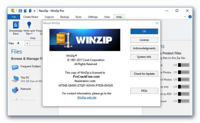 WinZip Pro Crack V26 + Serial Key-[Latest] Free Download
